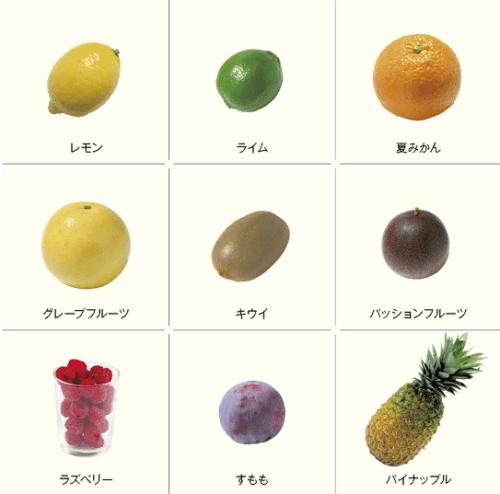 りんご、バナナなど甘い果物を多めに使用する