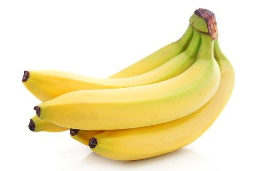 バナナをメインに使った水菜のスムージー