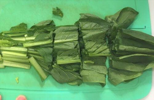 スムージーに使う小松菜を冷凍する最適な方法