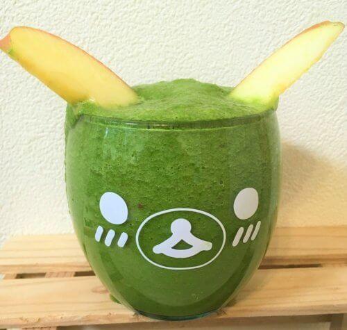 ほうれん草とりんごで作るスムージーレシピ【バナナなし】