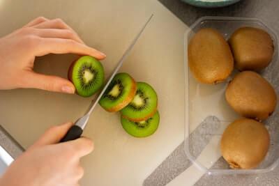 ほうれん草とバナナ、キウイで作るスムージーレシピ